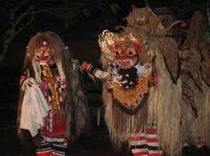 barong and rangda bali   evil and devil !