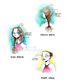 The struggles of long hair. It's not all the same length. There are always strands hanging everywhere.