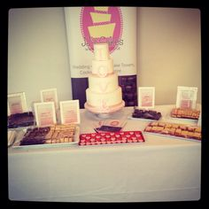 Wedding cake samples for taster evening x