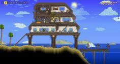 Terraria - Contemporary house on the beach