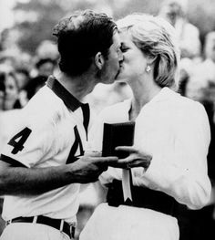 Diana congratulates a victorious Charles at the end of a polo match in 1988. At the time the image was seized on by the press as evidence of a happy, healthy relationship. In fact, the marriage was already starting to sour.