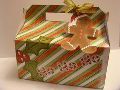 Christmas Gift Box  Printable  DIY  Packaging by SweetBootique, $4.00