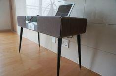 The installation of - Ruarkaudio Desk, Table, Furniture, Home Decor, Homemade Home Decor, Desktop, Writing Desk, Mesas, Home Furnishings