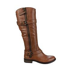 In LOVE with these boots!! Steve Madden SONNYA leather women's boot flat casual