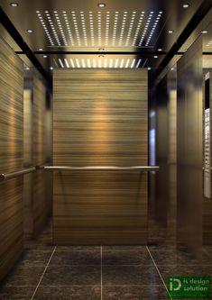 Lift Cabin, Wisma Chase Perdana.  Damansara Height   Job: 3d Visualization