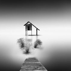 Vassilis Tangoulis Minimalist Long Exposure Black and White Photography Fubiz Media