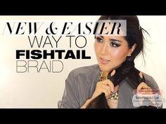 ★ NEW & EASY WAY TO DO A FISHTAIL BRAID TUTORIAL | BRAIDED HAIRSTYLES FOR SCHOOL MEDIUM LONG HAIR