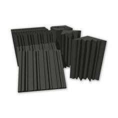 Absorpčné akustické panely, 4 +8 ks, 4.32m2