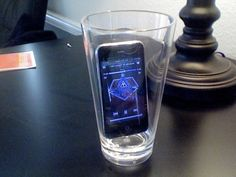 iPhone or iPod played in cup...instant amplified music