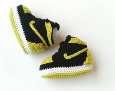 CROCHET PATTERN Nike Air Jordan 3 Crochet Baby por HouseSneakers