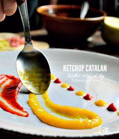 Ketchup catalan, une recette made in Occitanie à base de purée de poivrons rouges ou jaunes cuits à la vapeur dans l'Omnicuiseur pour garder leurs saveurs