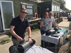 Yesterday was the start of another SF2 TDI Air Diluent Decompression course at Bucklands Lakes with Southern Scuba :-) Today was break down and build up day, where the guys get to know all about their new toys !! Enjoy the start of the silent world guys !!  http://www.rebreatherpro-training.com/News-diving/The-start-of-another-SF2-Air-Diluent-Decompression-course/184