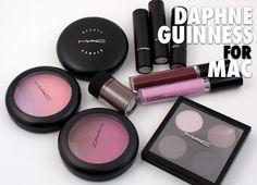 Daphne Guinness for MAC.