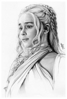 Daenerys Targaryen by FinAngel.devianta… on – Sabine Ullmann – Daenerys Targaryen by FinAngel.devianta… on – Sabine Ullmann – Dessin Game Of Thrones, Game Of Thrones Drawings, Arte Game Of Thrones, Game Of Thrones Artwork, Realistic Pencil Drawings, Pencil Art Drawings, Art Drawings Sketches, Portrait Sketches, Pencil Portrait
