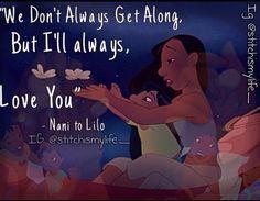 <3 Lilo & Stitch. I can totally identify with Nani.