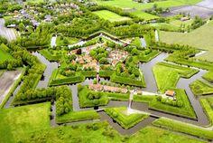 Fortress of Bourtange, Groningen Netherlands Open March 31st to November 2nd