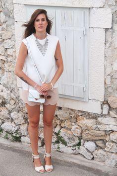 rebecca minkoff crossbody bag | asos sunglasses cos top | zign high heels