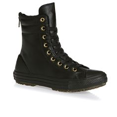 Converse All Star Womens Boots - Black/black/black