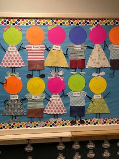 """Diy Crafts - Back to School Bulletin Board idea for Preschool and Pre-K! Transitions from """"Welcome"""" to """"About Me"""" With a fun Self-portrait twist! Kindergarten Bulletin Boards, Preschool Bulletin Boards, Preschool Classroom, In Kindergarten, Preschool Activities, Preschool Welcome Board, All About Me Crafts, All About Me Preschool, Crafts For Kids"""