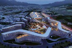 zaha hadid esfera city center monterrey mexico designboom