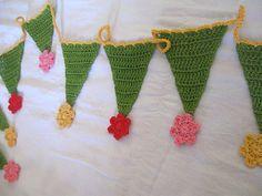 Ravelry: Girly Girly Bunting pattern by Saritha Ashok