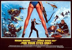 The First Bond that John Glen directed. A welcome earthbound return after the way out Moonraker. An unusual score by the usually great Bill Conti (Rocky). Perhaps the the best Roger Moore Bond film.