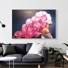Large Art Prints, Wall Art Prints, Body Drawing, Poster Pictures, Art Inspo, Tapestry, Painting, Print Poster, Abstract Canvas