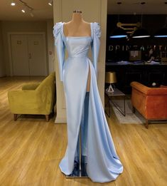 Gala Dresses, Prom Dresses Blue, Pageant Dresses, Pretty Dresses, Beautiful Dresses, Formal Dresses, Chiffon Dresses, Long Dresses, Cheap Evening Dresses