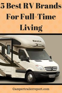 5 Best RV Brand For Full-Time Living Many people eager to take a big leap Motorhome Living, Motorhome Interior, Motorhome Fun, Motorhome Travels, Yacht Interior, Rv Homes, Travel Trailer Remodel, Buying An Rv, Rv Travel