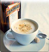 Café au cointreau