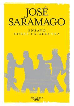 """Una ceguera blanca va invadiendo de a poco a todos, la vida se vuelve difícil. El ensayo muestra lo mejor y lo peor de la raza humana en el intento de sobrevivir. """"Ensayo sobre la ceguera"""" - Jose Saramago."""