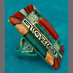 Philbert Begay Turquoise Ring