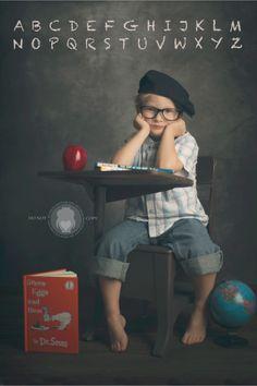 School Portrait- Jen Dixon Photography (Iddy Biddy Photography)  #iddybiddyphotography #schoolportraits