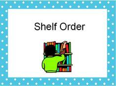 The Book Bug: Shelf Order ppt