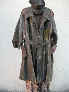 waterworld complete smoker costume movie prop screen used wardrobe apocalyptic from $200.0