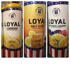 Now Stocking Sons Of Liberty Loyal Drinks ! Alcoholic Drinks, Beverages, Natural Flavors, Drink Bottles, Lemonade, Liquor, Vodka, Liberty, Sons