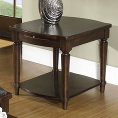 Somerton Dwelling Morgan End Table - The Somerton Dwelling Morgan End Table may be more than meets the eye, but its beauty is no secret. This piece, which boasts versatile transit...