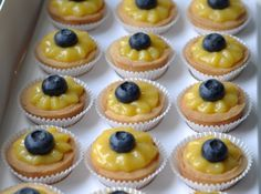 Lemon and Blueberry Tartlets and other High Tea ideas