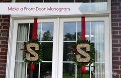 Front Door Monogram
