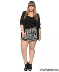 Plus size shorts 2017-2018 » B2B Fashion