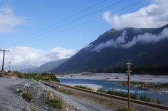 Railway through Arthur's Pass