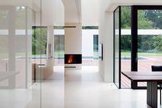 Offener Kamin | Titus Bernhard Architekten ©Jens Weber, Orla Conolly, München