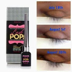 Dont settle for mascara!! Grow your natural eyelashes with Lash Pop!! Naturally thicken and grow your real lashes!! #posh #pamper #yourself #lashes #grow #natural #beauty #love