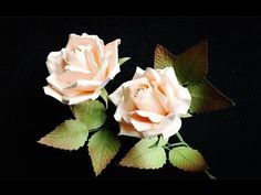 ABC TV | How To Make Rose Paper Flower With Shape Punch #1 - Craft Tutorial