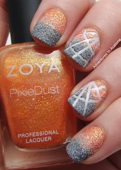 Glitter Nail Art Designs for Shiny & Sparkly Nails - Do you find your nails. Gliter Nails, Nails Opi, Sparkly Nails, Shiny Nails, Fancy Nails, Love Nails, How To Do Nails, Pretty Nails, Shellac