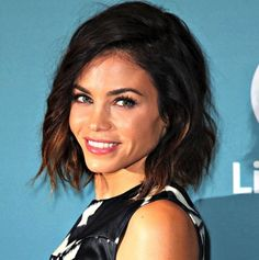 Jenna Dewan Tatum has been flying high as Lucy Lane on the new TV series, Supergirl, but her hair has been pretty damn super lately as well. We can't get enough of her shorter haircut because it lo...