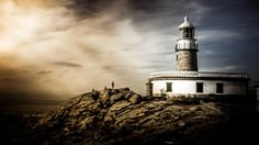 By the Lighthouse by Picouso  on 500px