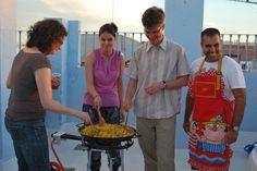 Activities for students / Actividades para los estudiantes. #Cádiz #Spain #Party #Fiesta #LaPaella