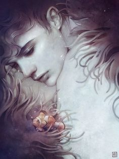 New Incredible Portraits by Anna Dittmann | The Dancing Rest http://thedancingrest.com/2015/02/03/new-incredible-portraits-by-anna-dittmann/