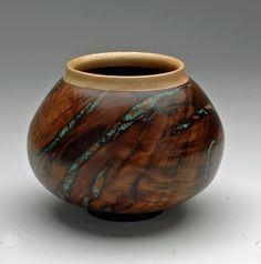 wood bowl inlay